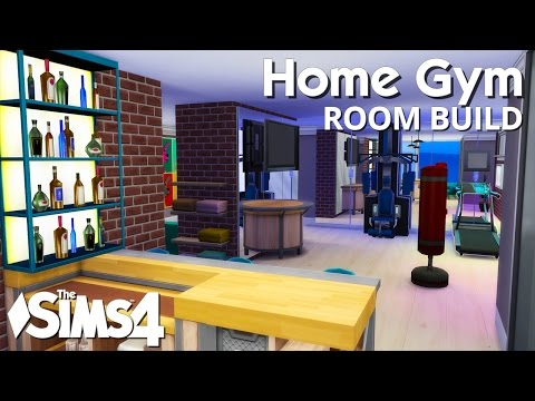 The Sims 4 Room Build - Home Gym