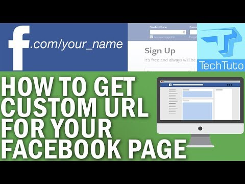 HOW TO SET A CUSTOM URL FOR FACEBOOK PAGE 2018 (Set a Custom URL for Facebook Business / Fan Page)