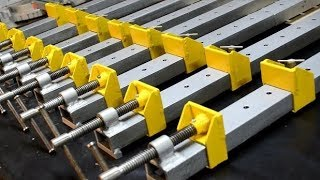 Homemade Heavy-Duty Bar clamps