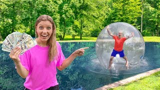 Download FIRST TO WALK WATER WINS $10,000 - CHALLENGE!! Video