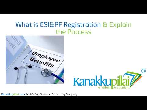 How to get ESI & PF Registration? ESI/PF Registration Process| Documents Required @ Kanakkupillai