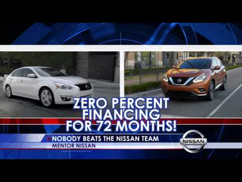 Best Time to Buy a Car at Mentor Nissan