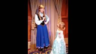 Meeting Princess Anna