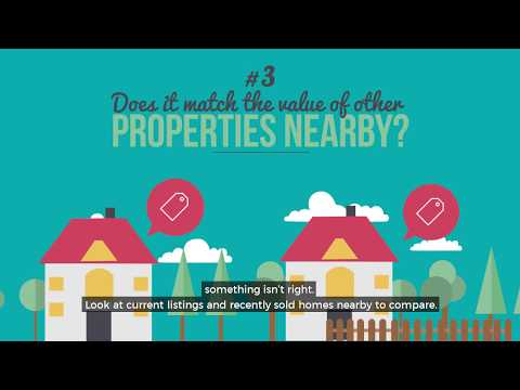 How to spot an overpriced property