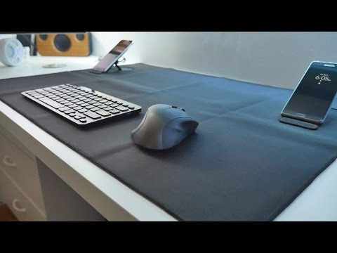 Large Gaming Mouse Pad With Two Kick Stands
