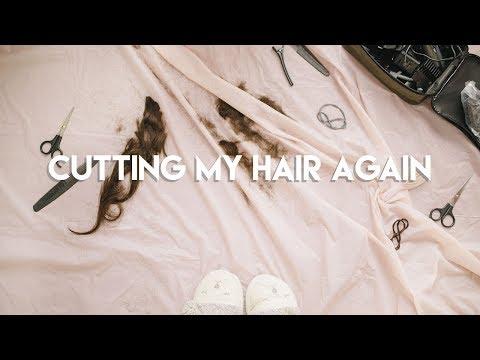 CUTTING MY HAIR AGAIN
