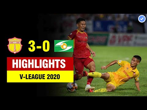 Highlights Nam Định 3-0 SLNA | Nam Định trình diễn đặc sản ngoại hạng Anh tại Thiên Trường