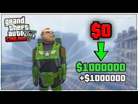 $0 TO MILLIONAIRE FOR DOING NOTHING! (GTA 5 Online Unlimited Money Glitch)