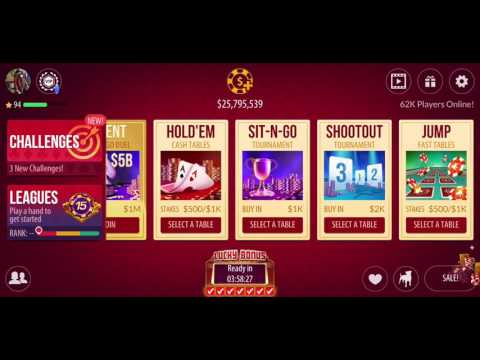 ZYNGA POKER FREE CHIPS | 36000000 Chips For Free | 441 Tickets Mega Redemption