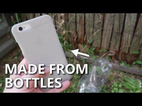 Recycled Phone Case made from 3D Printed PET Bottles - Refil Filament