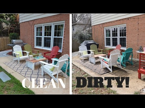 WEEK 1: I Pressure Washed My Patio! I'm Addicted Now... :)