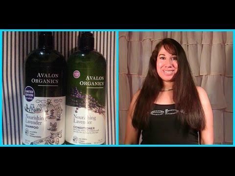 Lavender Essential Oil Shampoo Conditioner Avalon Organics Review