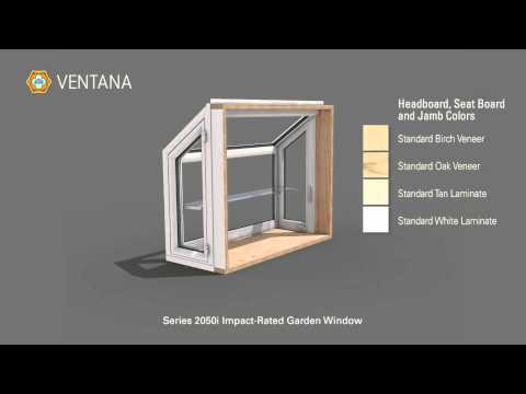 Series 2050i Impact Garden Window