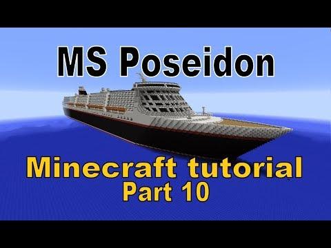 MS Poseidon Minecraft Tutorial Part 10