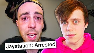 Jaystation was arrested