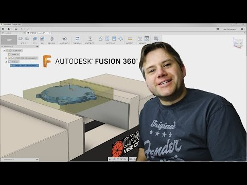 Fusion 360 CAM Tutorial — How to — Part in a Vise