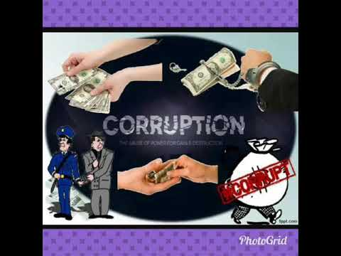 essay on corruption