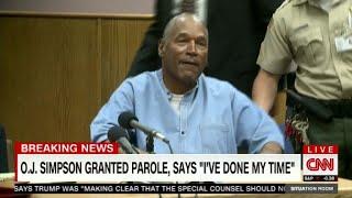 O.J. Simpson gets parole