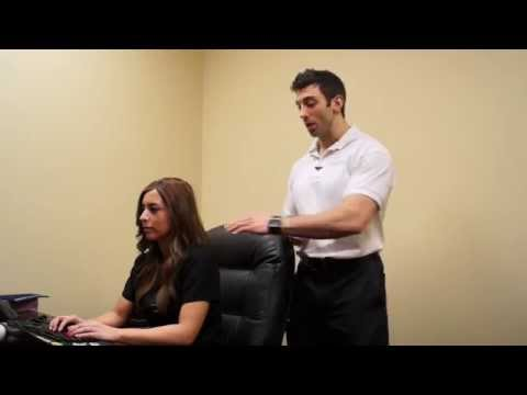 Office Pain Remedies: Upper Back and Shoulder Tension relief