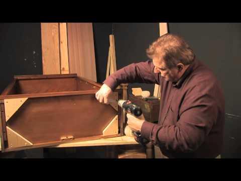 Installing Bun Feet with Wood Dowels (Osborne Wood Products)