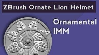 001 ZBrush Ornate Lion Helmet Blockout - PakVim net HD