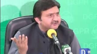Punjab Govt Official Malik Ahmed Khan  Presser