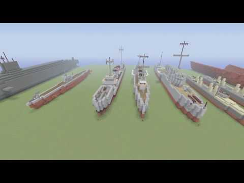 Minecraft Ship World!