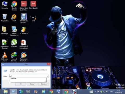 How to remove junk files and virus on windows 8 8.1 and make faster your pc