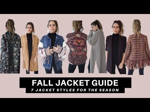 Fall Jacket Guide   7 Jacket Styles for Fall