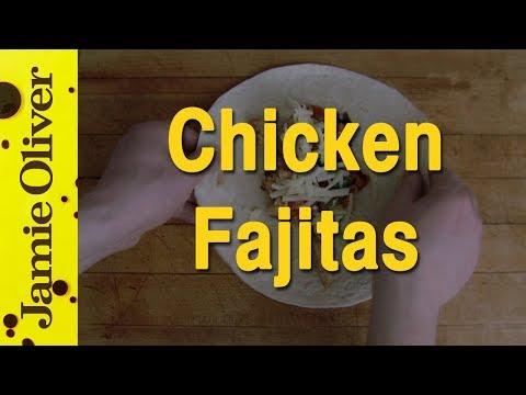 Jamie Oliver's Chicken Fajitas by EAT IT!