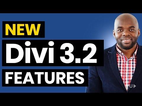 Elegant themes tutorial - Divi Feature Update 3.2