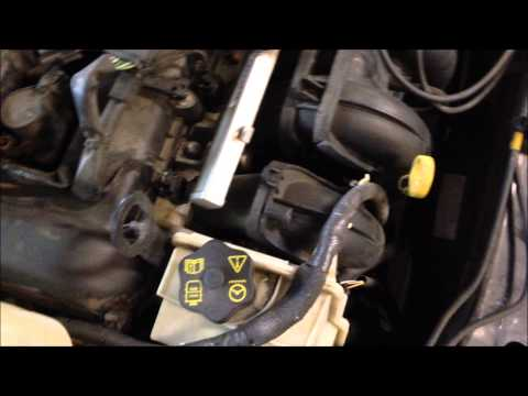 Change spark plugs in a ford focus