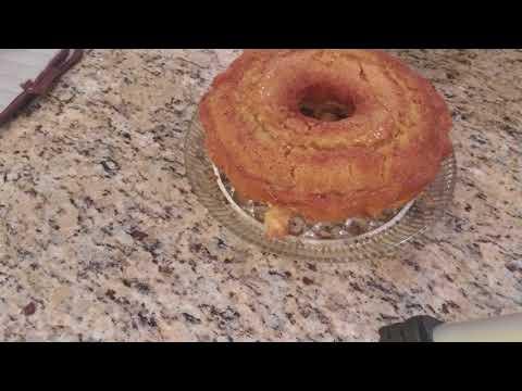 Bourbon Burnt Sugar Lb Cake.