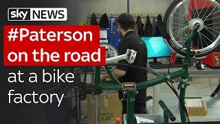 Paterson on the road: At a bike factory to talk about Brexit