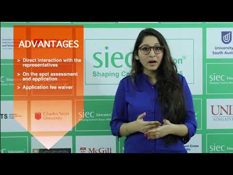 SIEC's Australian Education Fair in Bangalore   Study in Australia   AEF   Education Fair