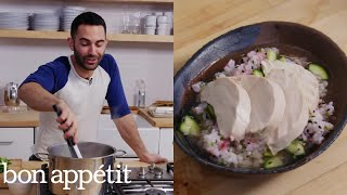 Andy Makes Confetti Rice with Chicken   Bon Appétit