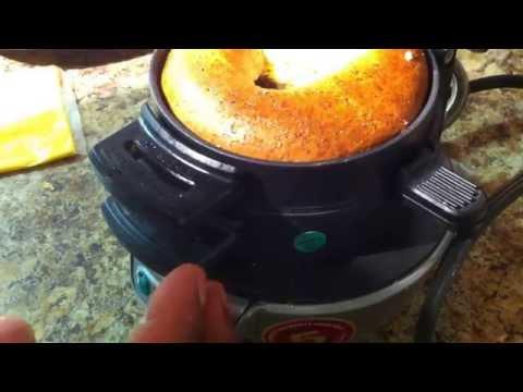 Hamilton Beach Breakfast Sandwich maker Sept 1 2014
