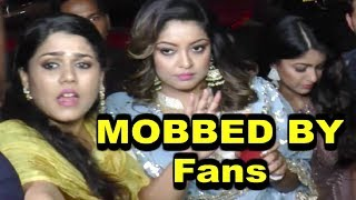 Tanushree Dutta MOBBED By Reporters Badly At Dandiya Event