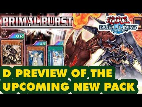 PRIMAL BURST NEW PACK KOG PREVIEW - Yu-Gi-Oh! Duel Links