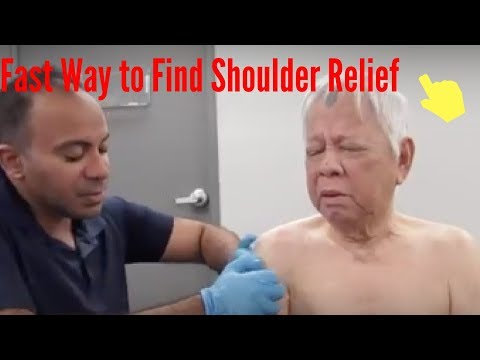 Shoulder Pain Relieved Almost Immediately