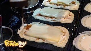 Download Pig Shaped Bread / Korean Street Food / Dongmun Market, Jeju Island Korea Video
