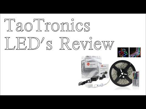 TaoTronics LED's Review (TT-SL007 Waterproof LED Strip)