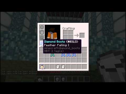 Minecraft: How much does Feather Falling help? (TEST)