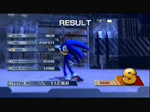 White Acropolis Very Hard Mode [Sonic]  S rank - Sonic The Hedgehog 2006