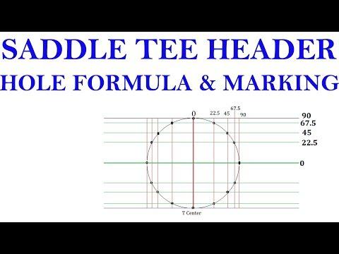 Saddle Tee Branch Header Hole Formula - PakVim net HD Vdieos