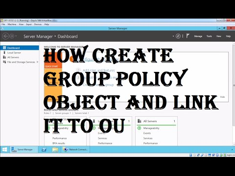 How to Create and Link a Group Policy Object in Active Directory