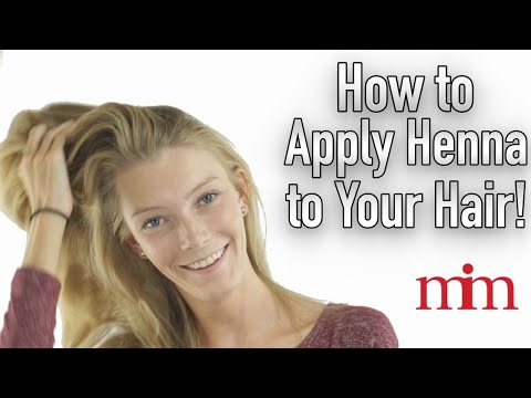 Apply Henna On Hair For Strength, Color & Shine | Tutorial