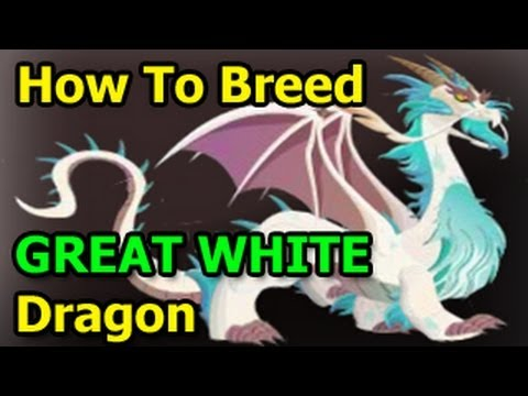 GREAT WHITE DRAGON Dragon City How to Breed Formula from Deus Vault