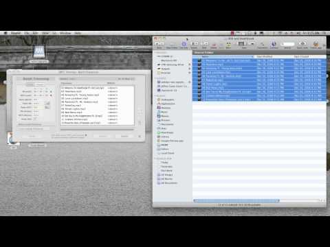 How to Batch Trim many MP3 Files on a Mac