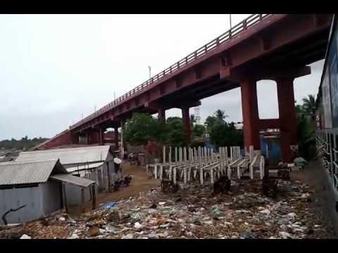 rameswaram pamban bridge rail running